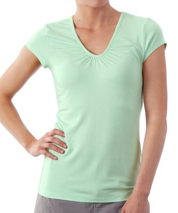 Opal Kassia Cap-Sleeve Top