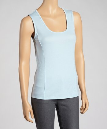 Ajax Chelsea Sleeveless Scoop-Neck Top