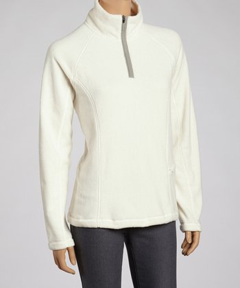 Egret Tonic Fleece Pullover - Women