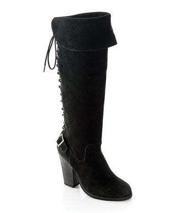 Black Deanna Boot