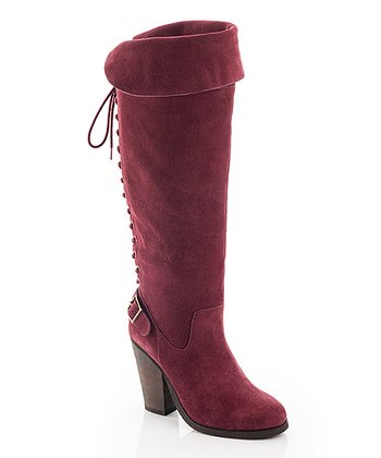 Wine Deanna Boot