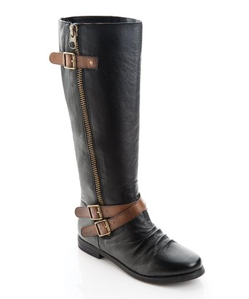Black Meghan Boot