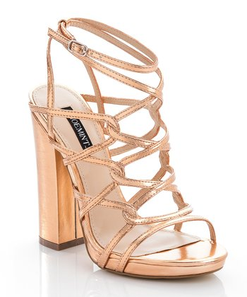 Rose Gold Sylvia Pump