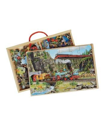 Trains Jumbo Puzzle Set