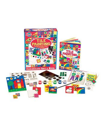 Tile Painting Set & Book