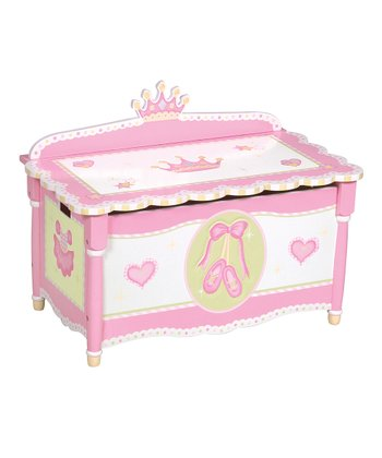 Guidecraft Swan Lake Toy Box