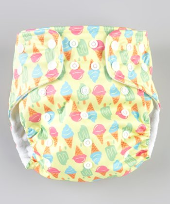Ice Cream Pocket Diaper