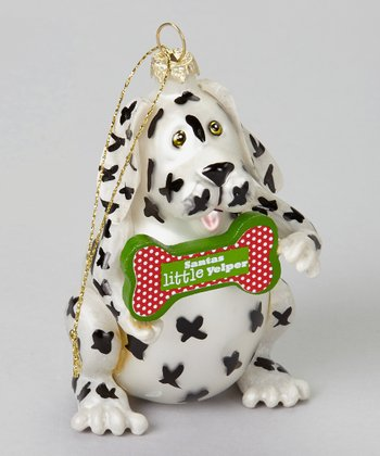 'Santa's Little Yelper' Dog Ornament