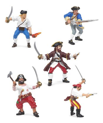 Red & Blue Pirate Set
