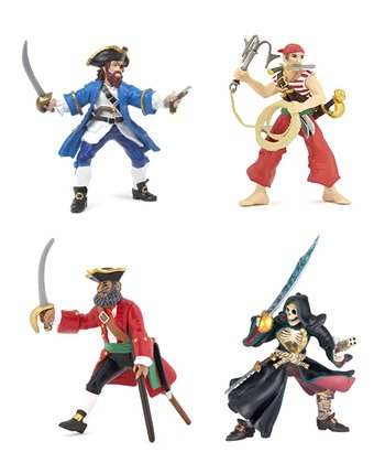 Red & Blue Mutant Pirate Set