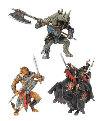 Shadow Warrior, Lion Man & Rhino Man Set