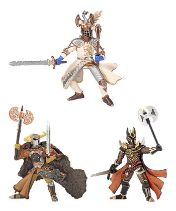 Prince, Knight & Viking Warrior Set