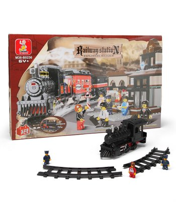 Explorers Alliance Railway Station Block Set