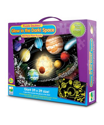 Glow-in-the-Dark Space Puzzle
