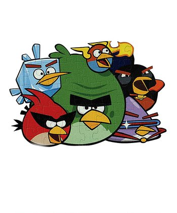Angry Birds Space Floor Puzzle