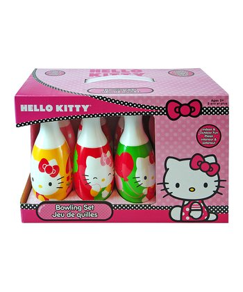 Hello Kitty Bowling Set
