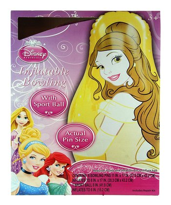 Disney Princess Inflatable Bowling Set