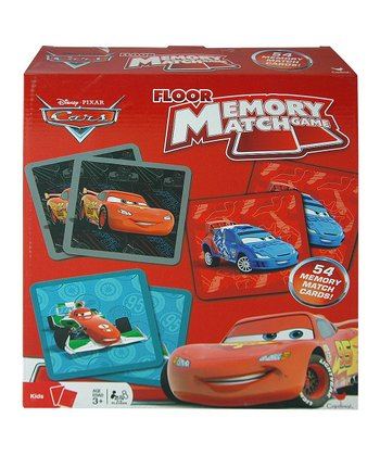 Cars Floor Memory Match Game