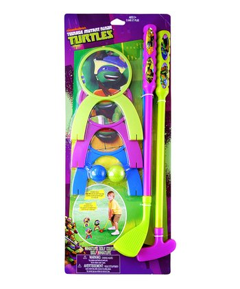 Ninja Turtles Golf Set