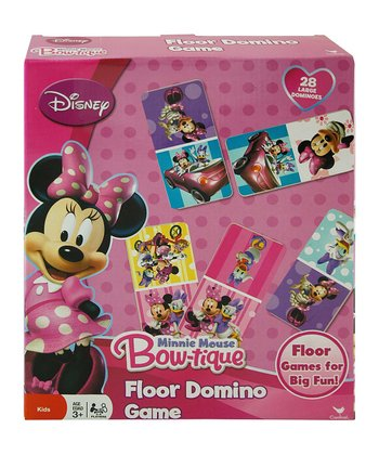 Minnie Mouse Bow-tique Floor Dominoes Set