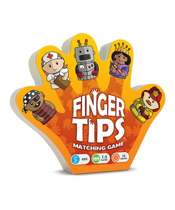 People Finger Tips Matching Game