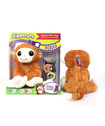 Monkey's Wild Plush Game