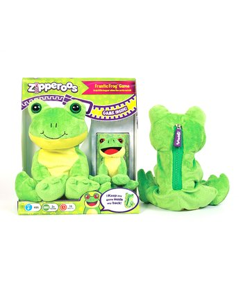Frantic Frog Plush game