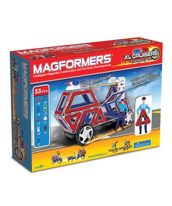 XL Cruisers Emergency 33-Piece Magformers Set