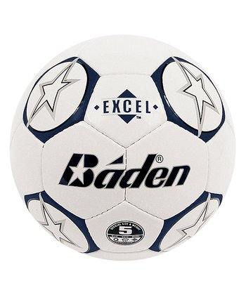 Blue & White Star Soccer Ball