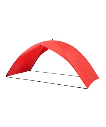 Red Two-Person Easy Solar Tent