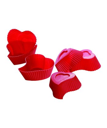 Heart Muffin Cup - Set of Six