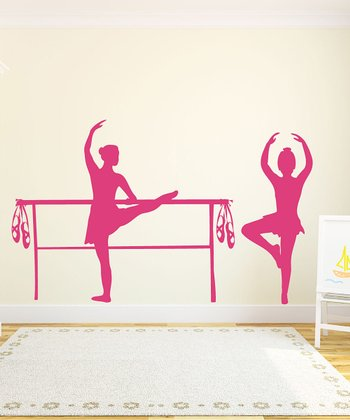 Bella Ballerina Wall Decal Set