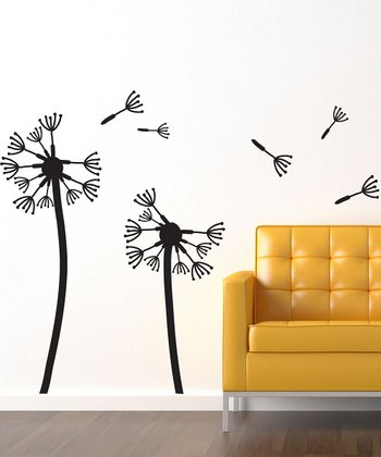 Medium Dandelions Wall Decal Set
