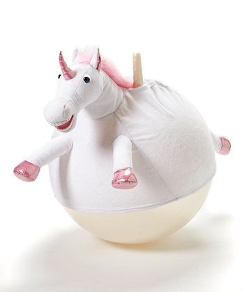 Anna the Unicorn Junior Jumping Ball