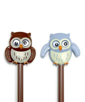 Owl Pen - Set of 4