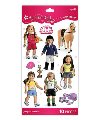 Sports My Doll Stacked Sticker Pack - Set of Three