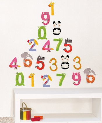 Multiplication Wall Decal Set