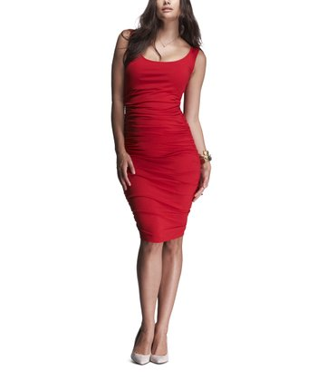 Scarlet Ruched Maternity Tank Dress