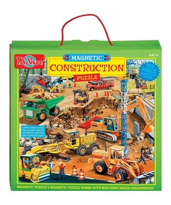 Magnetic Construction Puzzle