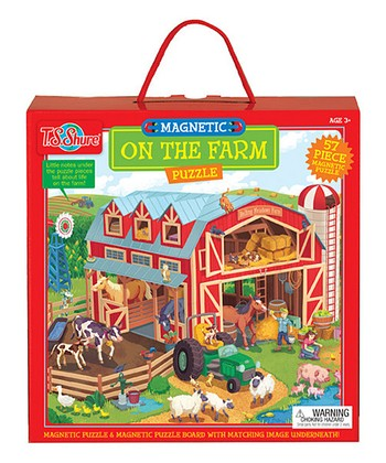 On the Farm Magnetic Puzzle
