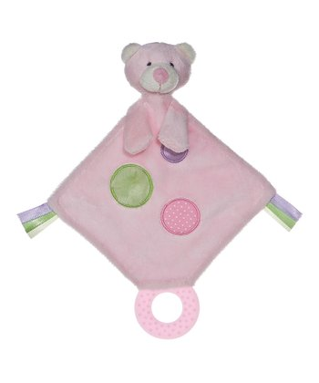 Pink Bear Teething Lovey