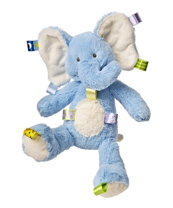 Blue Oh So Softies Elephant Plush Toy