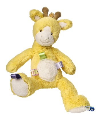 Yellow Oh So Softies Giraffe Plush Toy