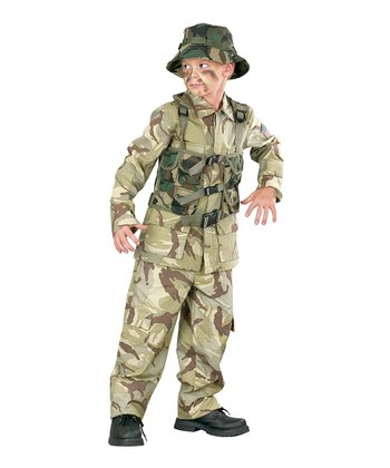 Camo Dress-Up Outfit - Kids