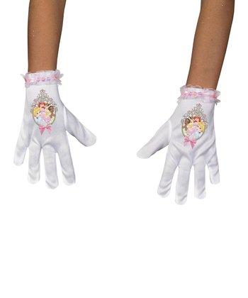 White Disney Princess Gloves