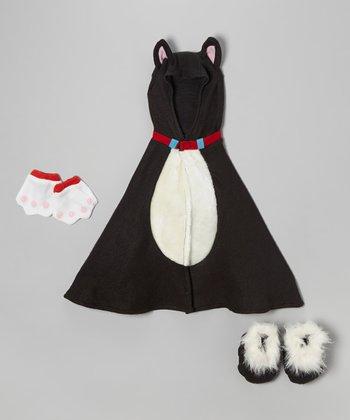 Black Little Kitty Dress-Up Set - Infant