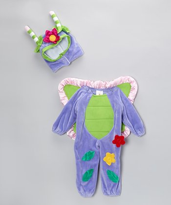 Purple Butterfly Dress-Up Set - Infant