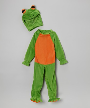 Green Frog Dress-Up Outfit - Infant & Toddler