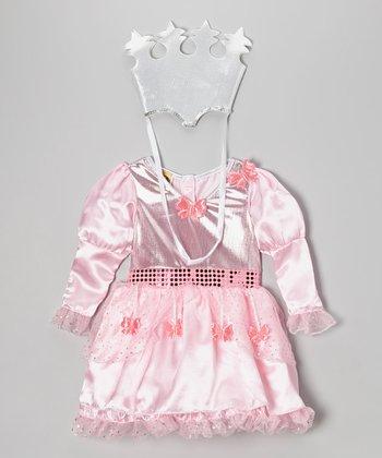 Pink Glinda Dress-Up Set - Girls