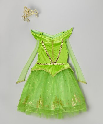 Green Princess Dress-Up Outfit - Toddler